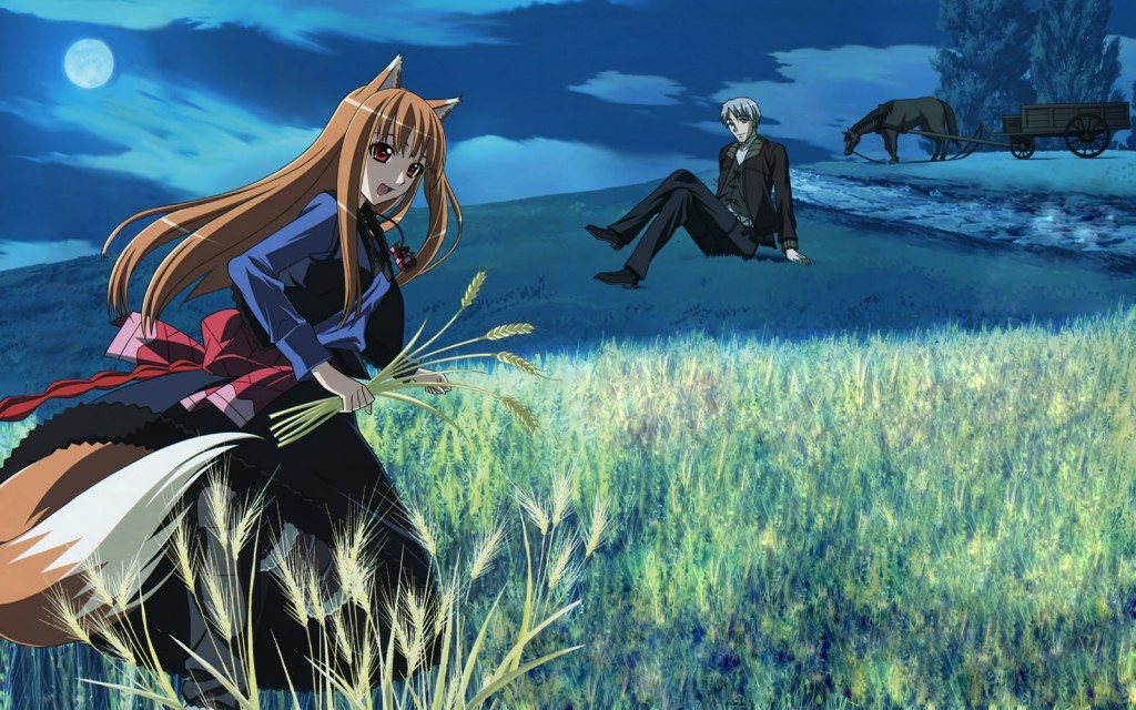 Spice and Wolf - Wallpaper