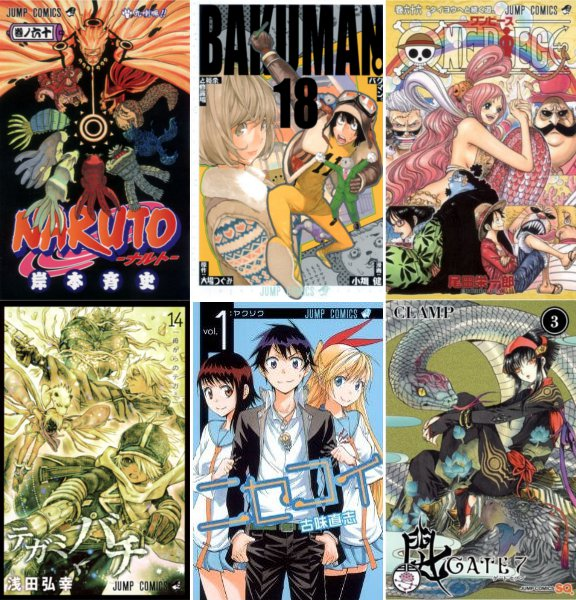 Anime Manga Covers: Other Manga/Anime News