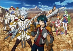 Ixion Saga (Fall 2012 Anime)