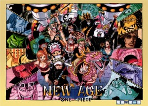 One Piece Chapter 693 Colour Page