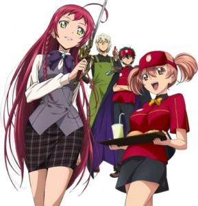 Spring 2013 Anime Hataraku Maou-sama!