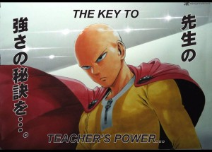 Onepunch Man Saitama Secret Power