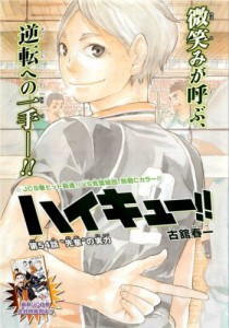 Haikyuu!! Chapter 54 Colour Page
