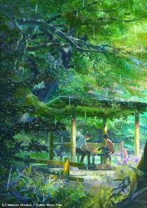 Kotonoha no Niwa summer 2013 anime
