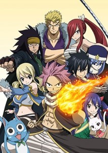 Fairy Tail (2014) Spring 2014 anime