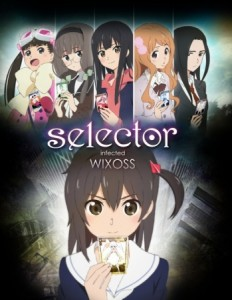 Selector Infected WIXOSS Spring 2014 anime